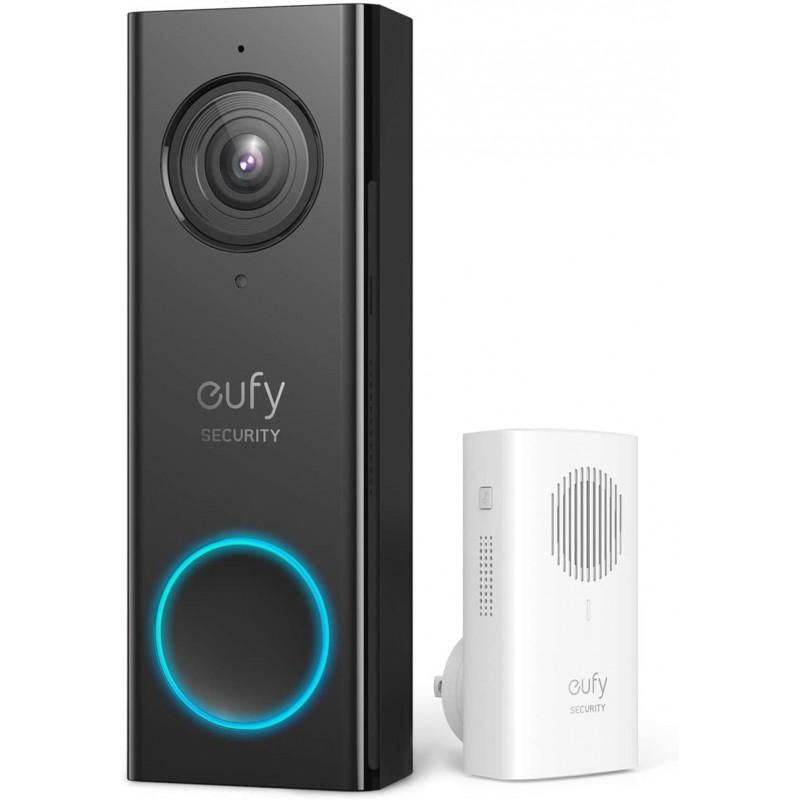 eufy Security Wi-Fi Video Doorbell, 2K Resolution,...