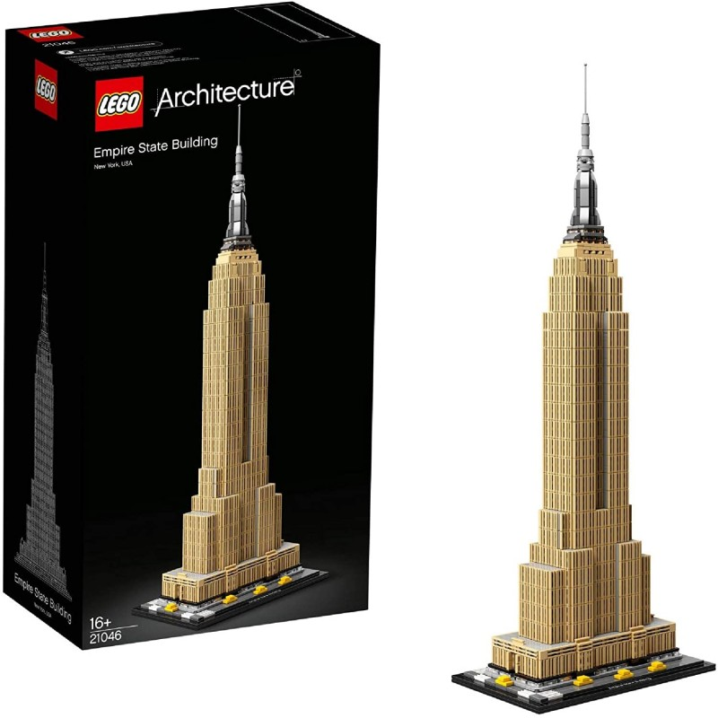 Lego 21046 Architecture Empire State Building Kit