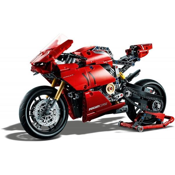 LEGO 42107 Technic Ducati Panigale V4 R Motorbike,...