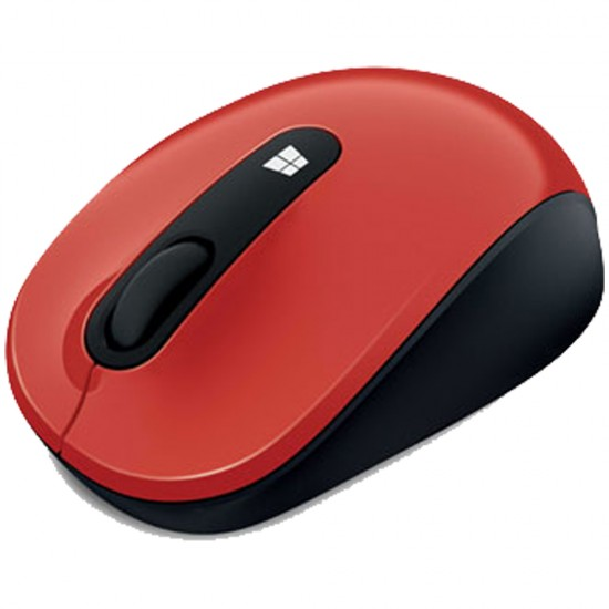 Microsoft Sculpt Mobile Mouse Flame Red