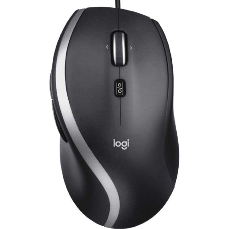 Logitech M500s Advanced Wired USB Mouse - Black