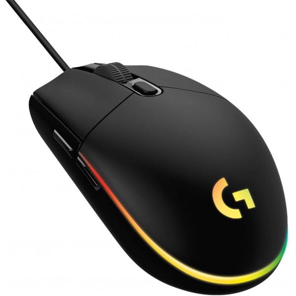 Logitech G203 LIGHTSYNC Gaming Mouse With Customiz...