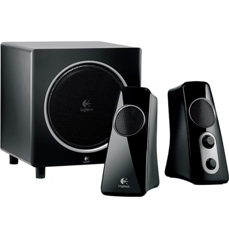 Logitech Z523 Speaker System - Black