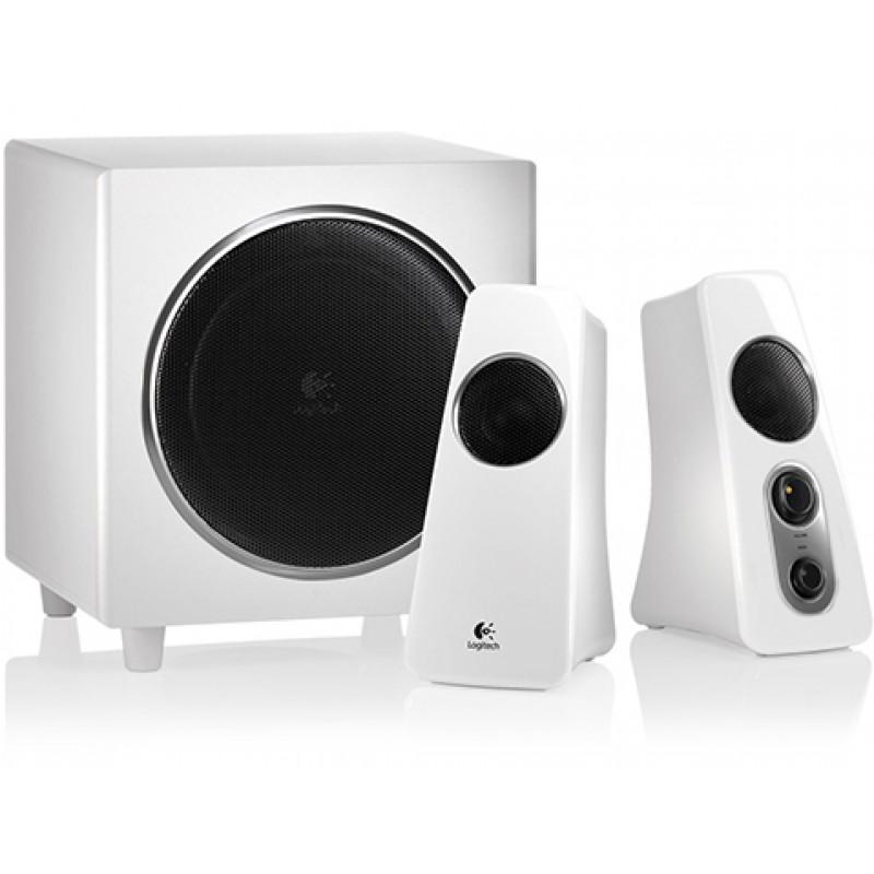 Logitech Z523 Speaker System - White