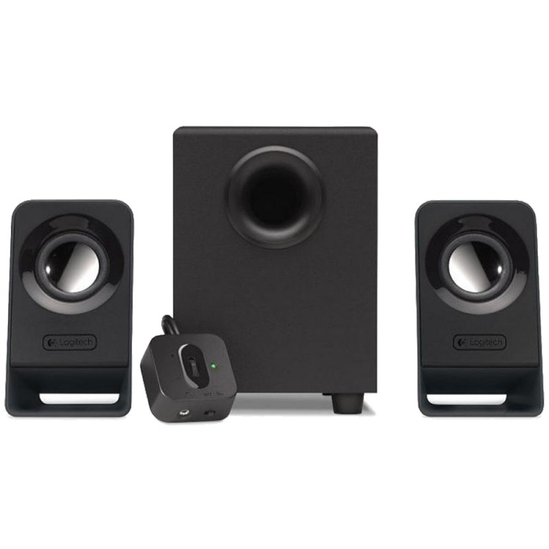 Logitech Z213 Compact PC Multimedia 2.1 Speaker Sy...