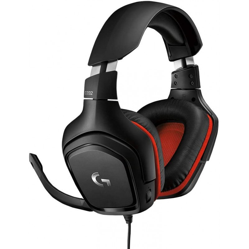 Logitech G332 Stereo Gaming Headset with Flip Mute...