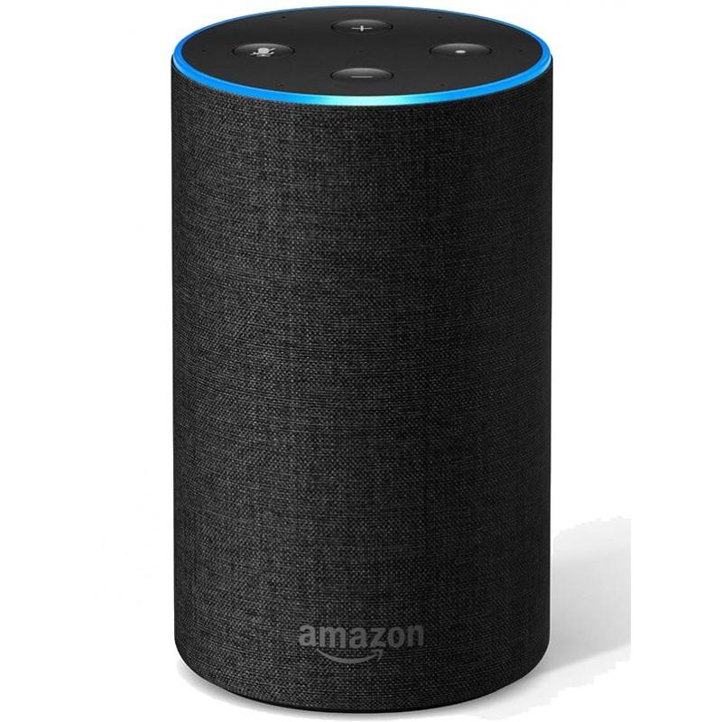 Amazon Echo (2nd Gen) - Smart speaker with Alexa -...