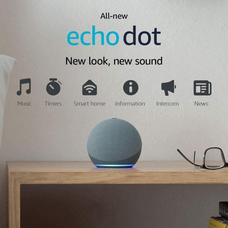 All-new Echo Dot (4th generation) Smart speaker with Alexa Twilight Blue