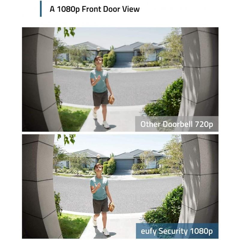 eufy Security Wi-Fi Video Doorbell Kit