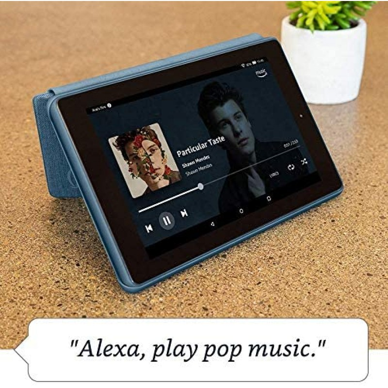 """Amazon Fire 7 Tablet 7"""" display, 32 GB, Black (2019) - with Ads"""