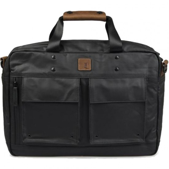 Forbes & Lewis Bournmouth Briefcase - Black Ash