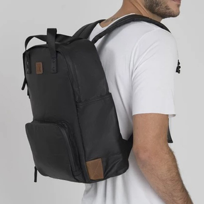 Forbes & Lewis Paddington Backpack - Black Ash