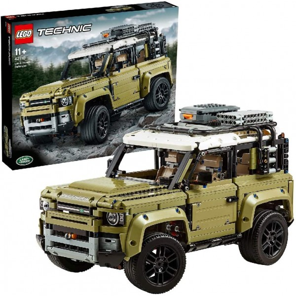 LEGO 42110 Technic Land Rover Defender Off Road 4x...