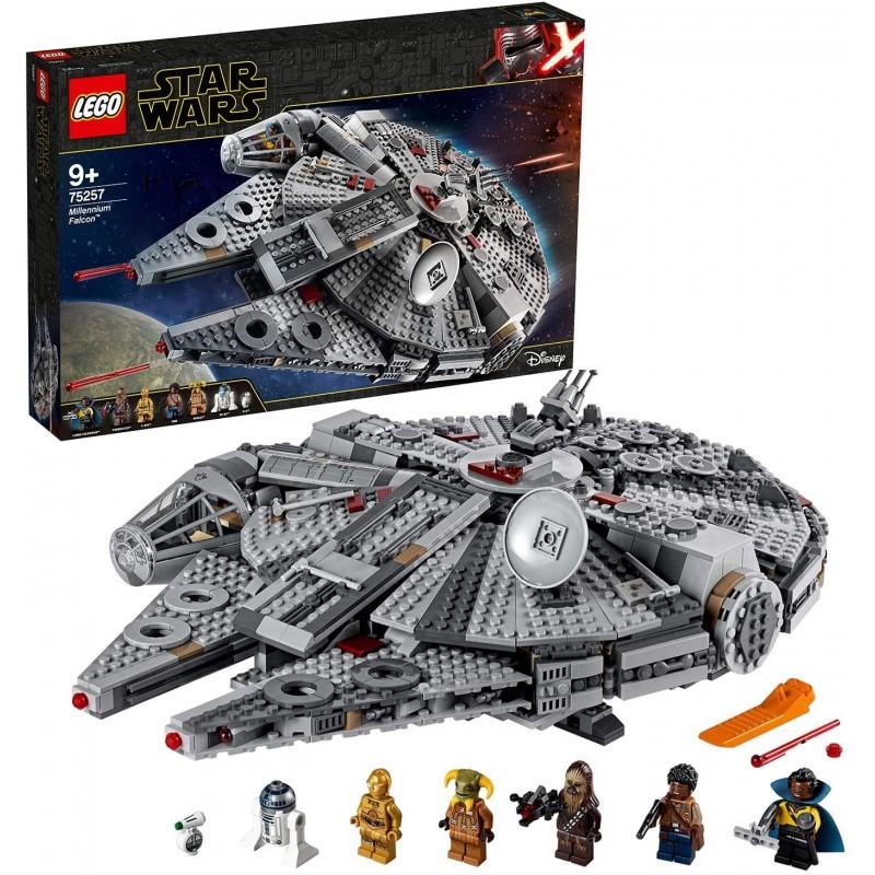LEGO 75257 Star Wars Millennium Falcon Starship Co...