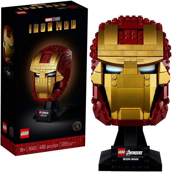 LEGO 76165 Marvel Iron Man Helmet Display Building...