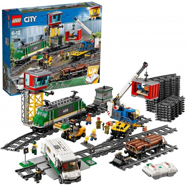 LEGO60198CityCargoTrainSetBattery Powe...