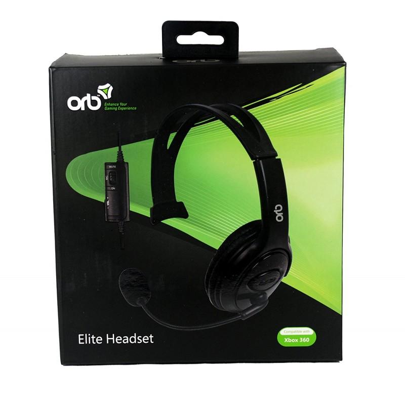 ORB Elite Headset - Black (Xbox 360)