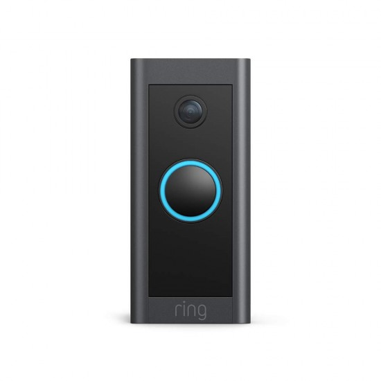 Ring Video Doorbell Wired by Amazon – HD Video, Advanced Motion Detection, hardwired installation