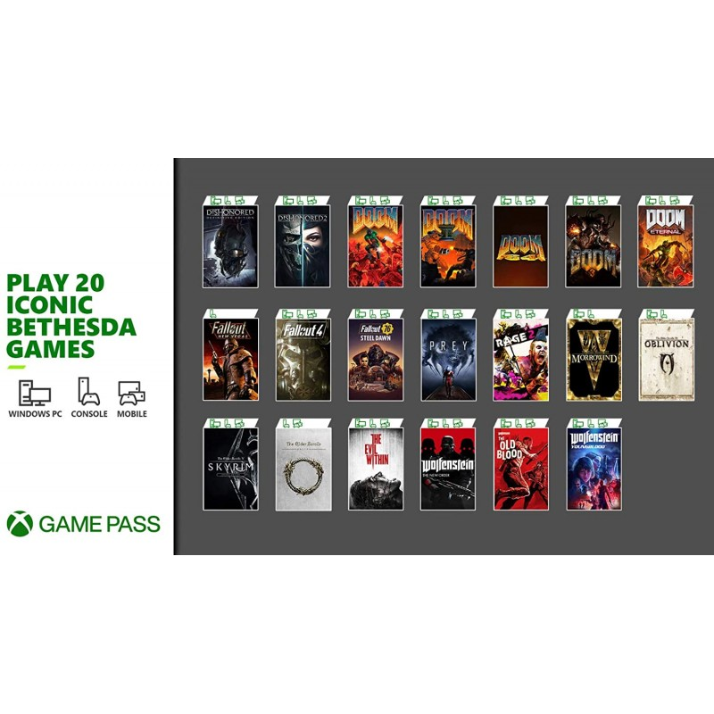 Xbox Game Pass Ultimate 3 Month Membership for Xbox / Win 10 PC - Download Code